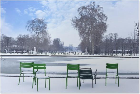 Plakát Jardin des Tuileries - Evropská města