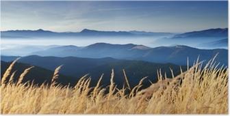 Plakat Jesień w górach