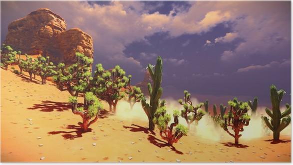 Plakát Joshua stromy na poušti - Veřejné budovy
