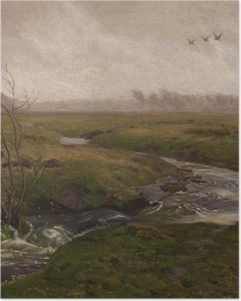 Plakat Józef Chełmoński - Wiosna - Reproductions