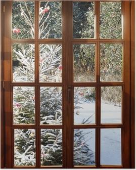 Plakát Kolem Vánoc na sněhu