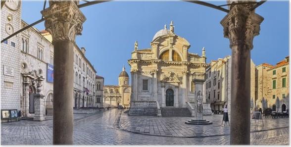 Plakát Kostel svatého Blaise v Dubrovníku, Chorvatsko - Evropa
