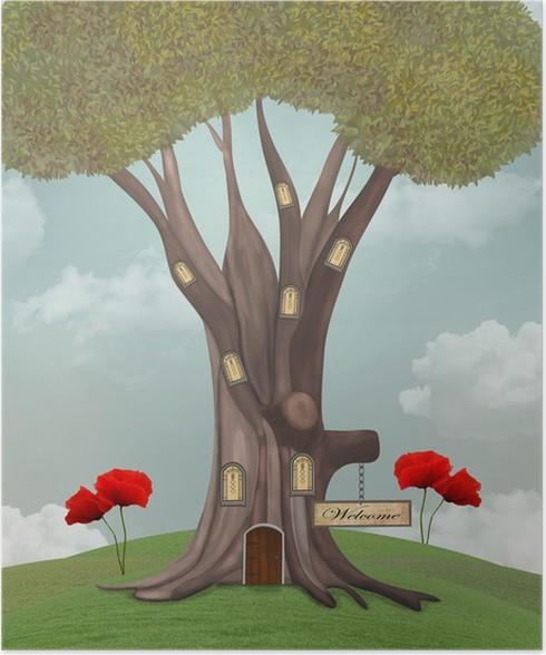 Plakát Kouzelný dům - Roční období