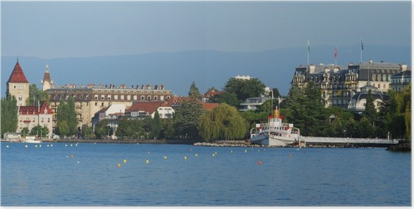Plakát Lausanne-Ouchy, Suisse - Evropa