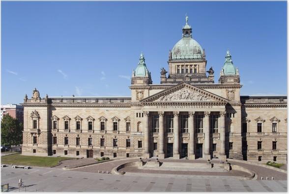 Plakát Leipzig Empire soud Spolkový správní soud - Památky