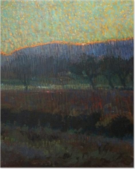 Plakat Leo Gestel - Dolina z drzewami - Reproductions