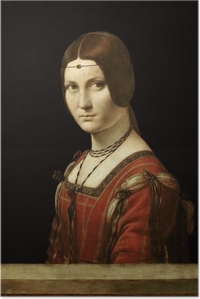 Plakat Leonardo da Vinci - La Belle Ferronière - Reprodukcje