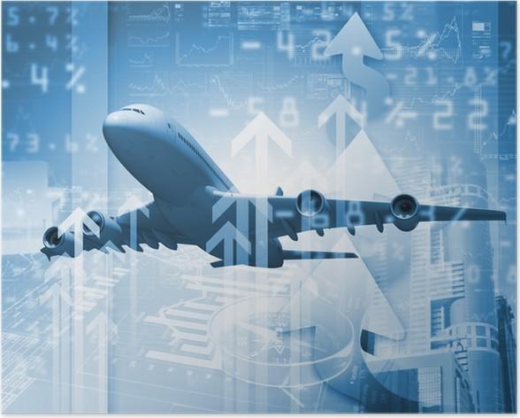 Plakát Letadlo na obchodní zázemí - Témata