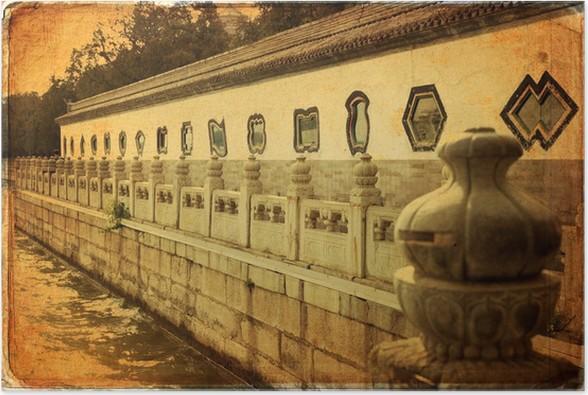 Plakát Letní palác v Pekingu - Yihe Yuan - Asijská města