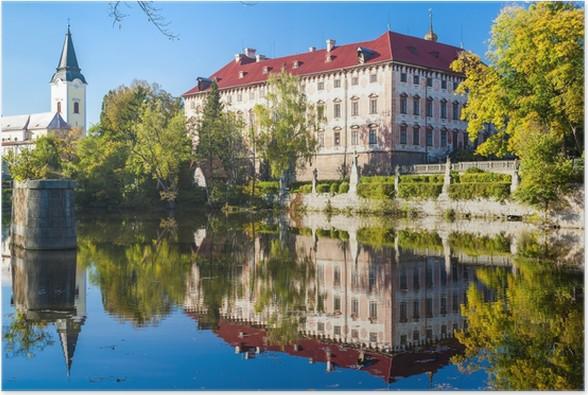 Plakát Libochovice Palace, Česká republika - Evropa
