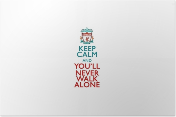 545045466 Plakat Liverpool F.C. • Pixers® • Żyjemy by zmieniać