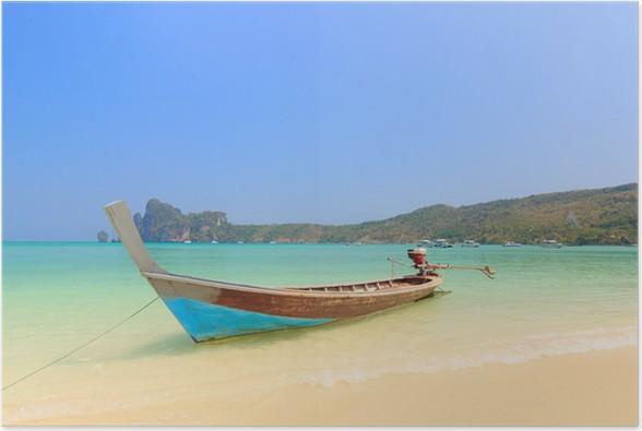 Plakát Loď v Phuket Thajsko - Prázdniny