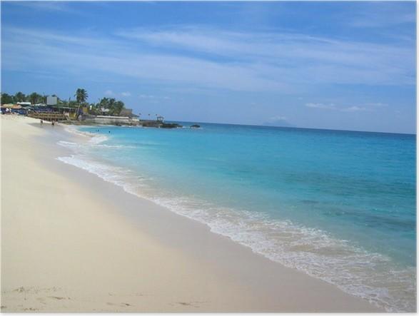 Plakát MAHO Bay Beach - Život