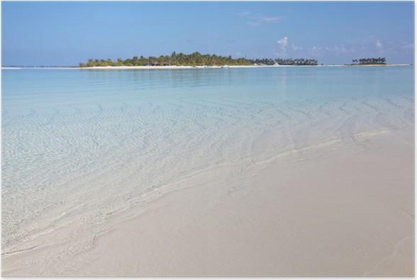 Plakát Maledivy - Prázdniny