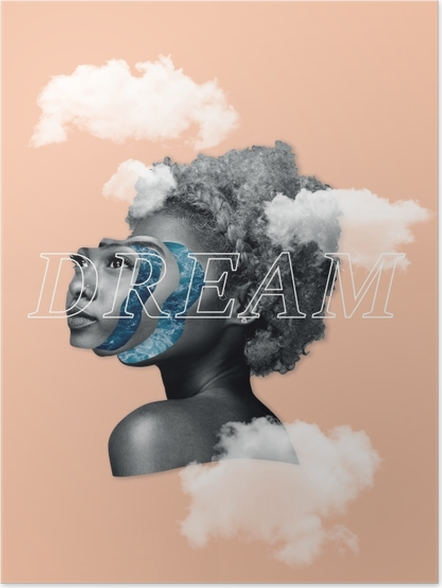 Plakat Marzenie - Motywacyjne