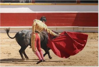 Plakat Matador z Cape
