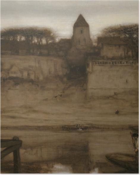 Plakat Matthijs Maris - Saint-Ouen - Reproductions