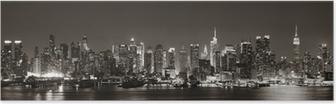 Plakat Midtown Manhattan Skyline