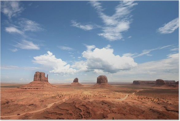 Plakát Monument Valley - USA - Amerika