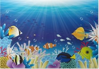 Plakat Morze