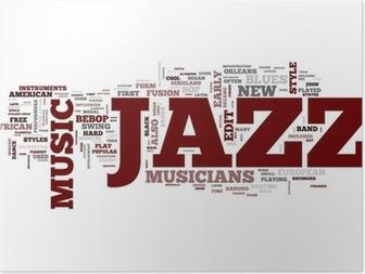 Plakat Muzyka jazzowa