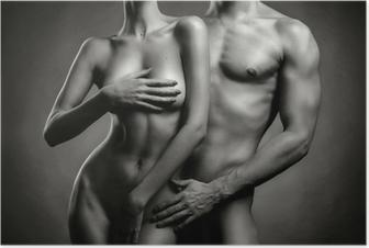 Plakat Nagie sensual para