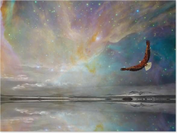 Plakát New Mexico hvězdy - Nebe