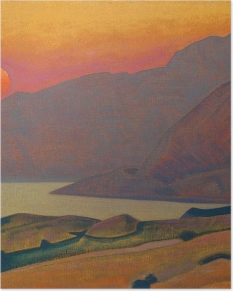 Plakat Nikołaj Roerich - Monhegan. Maine - Nicholas Roerich