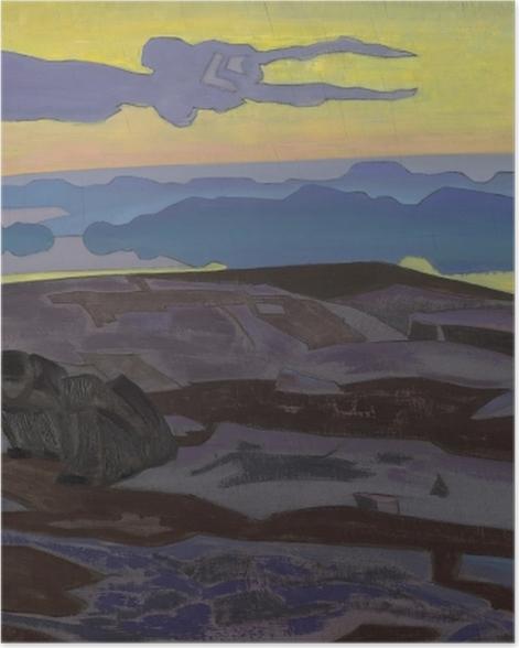 Plakat Nikołaj Roerich - Werdykt - Nicholas Roerich