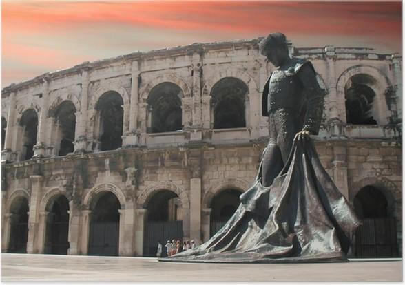 Plakát Nimes - Evropa