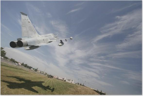 Plakát Nízké létání jet - Vzduch