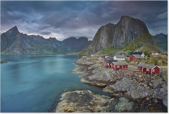 Plakat Norwegia