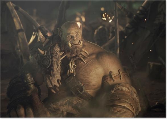 Plakat Orgrim Doomhammer - Tematy