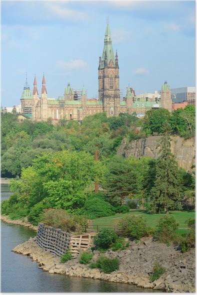 Plakát Ottawa panoráma města - Jiné