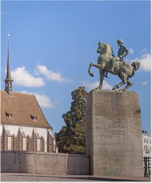 Plakát Památník Hans Waldmann v Curychu - Památky