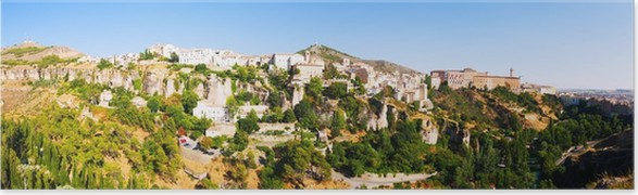 Plakát Panoramatický pohled na Cuenca - Evropa