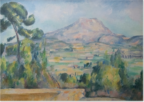 Plakat Paul Cézanne - Góra Sainte-Victoire - Reprodukcje