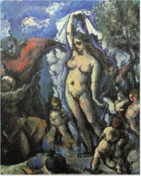 Plakat Paul Cézanne - Kuszenie św. Antoniego - Reprodukcje
