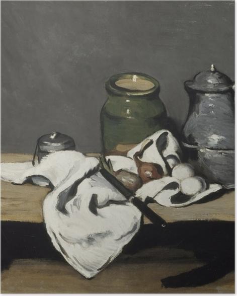 Plakat Paul Cézanne - Martwa natura z dzbanem - Reprodukcje