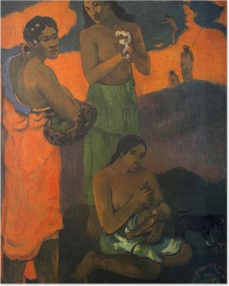Plakat Paul Gauguin - Macierzyństwo - Reprodukcje