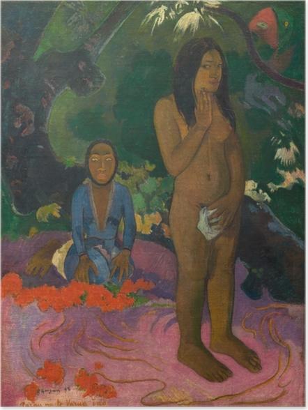 Plakat Paul Gauguin - Mahna No Varua Ino ( Słowa diabła) - Reprodukcje