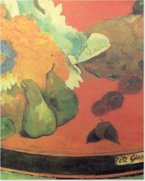 Plakat Paul Gauguin - Martwa natura Fête Gloanec - Reprodukcje