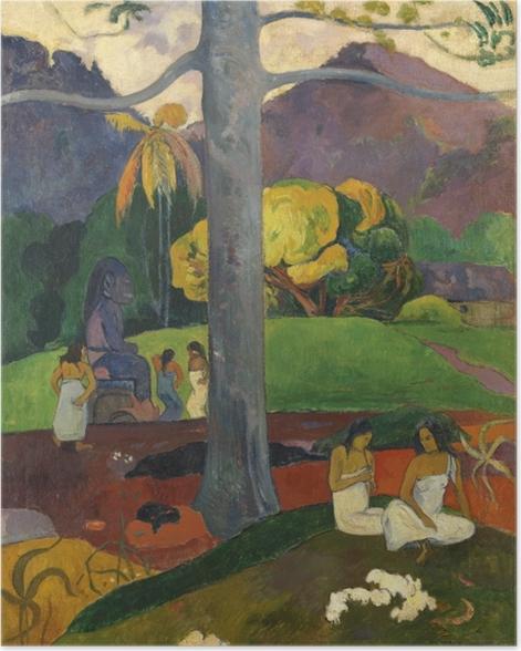 Plakat Paul Gauguin - Mata mua (Dawne czasy) - Reprodukcje