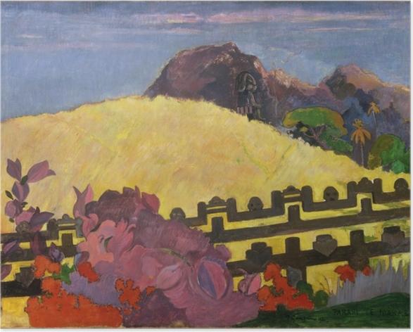 Plakat Paul Gauguin - Parahi te marae ( - Reprodukcje