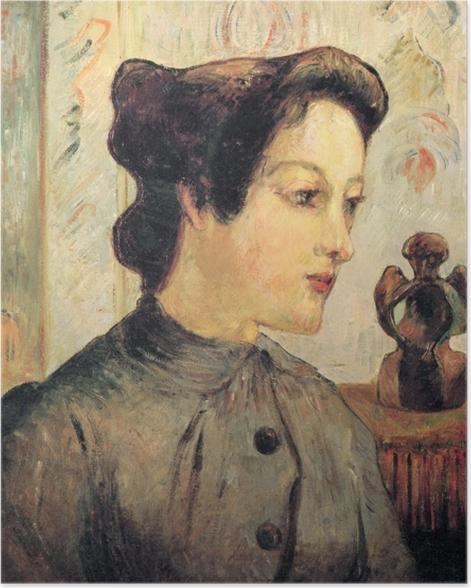 Plakat Paul Gauguin - Portret młodej kobiety - Reprodukcje