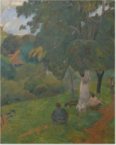 Plakat Paul Gauguin - Przychodząc i odchodząc. Martynika - Reprodukcje