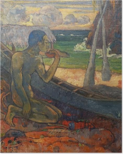 Plakat Paul Gauguin - Ubogi rybak - Reprodukcje