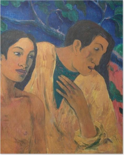 Plakat Paul Gauguin - Ucieczka - Reprodukcje