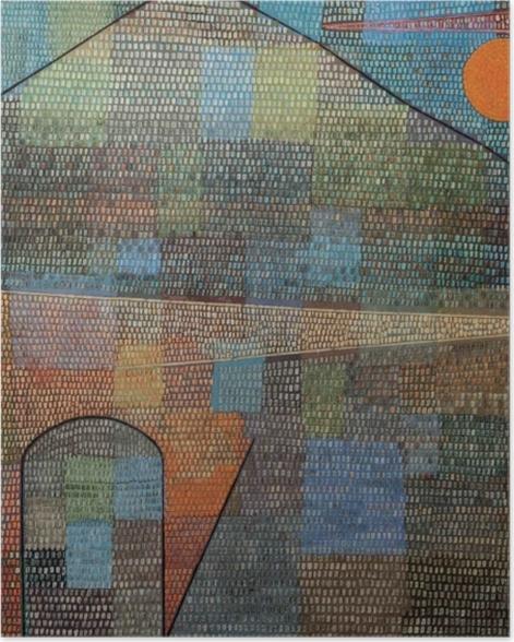 Plakat Paul Klee - Ad Parnassum - Reprodukcje