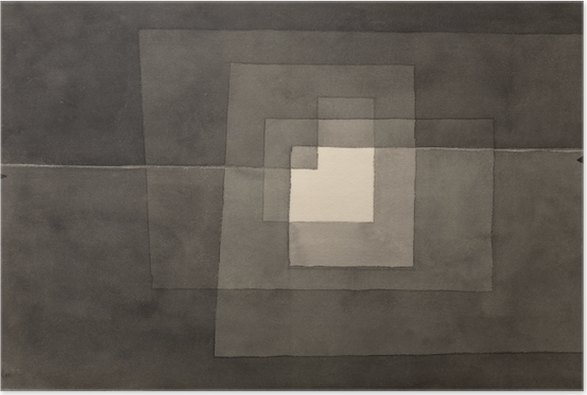 Plakat Paul Klee - Dwie drogi - Reprodukcje